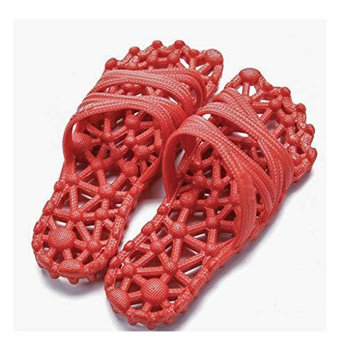YITIANTIAN Sandalias de Piscina Cubierta Hueco Inicio Sandalias y Zapatillas de Verano Baño Baño Inferior Suave Masaje Zapatillas Disponibles for Hombres y Mujeres Sandalias de Piscina para Mujer