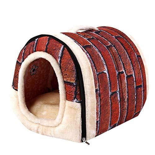 Pet Dog Cat Bed House Warm Soft Mat Bedding Igloo Basket Kennel Washable Snug Drop Ship,White,S,C