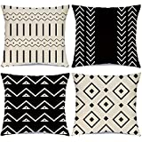 Hlonon Decorative Boho Throw Pillow Covers for Couch...
