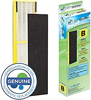 GermGuardian Air Purifier Filter FLT4825 GENUINE HEPA Replacement Filter B for AC4825, AC4825E,AC4825DLX, AC4300BPTCA,AC4850PT,AC4900CA,CDAP4500BCA,CDAP4500WCA Germ Guardian Air Purifiers[UPGRADED]