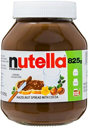 Nutella Pâte à Tartiner aux Noisettes/Cacao 825 g