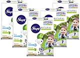 Sleepy Natural Diapers Size 7 - Organic Diapers Highly Absorbent and...