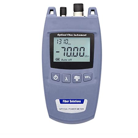 2 In 1 Fiber Light Tester With 6 Calibrated Wavelengths Optical Power Meter And 10mw Visual Fault Locator Function Amazon Com
