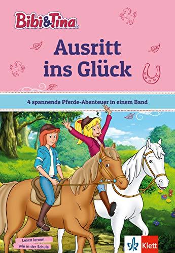 Bibi & Tina: Ausritt ins Glück – 4 spannende Pferde-Abenteuer in einem Band für Leseanfänger in der 1. Klasse, ab 6 Jahren - mit Hufeisen-Quiz.: 4 ... ab 6 Jahren (Lesen lernen mit Bibi und Tina)