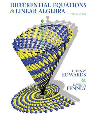 Differential Equations and Linear Algebra (3rd Edition)