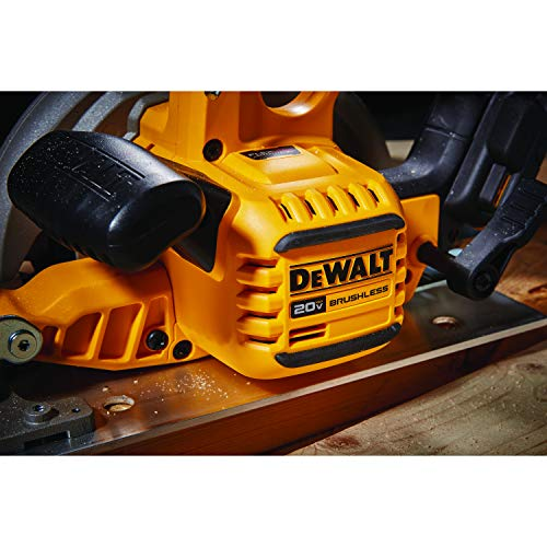 DEWALT FLEXVOLT ADVANTAGE 20V MAX Circular Saw, 7-1/4-Inch, Cordless, Tool Only (DCS573B)