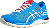 ASICS Women's Gel-Cumulus 21 Running Shoes, 7.5M, Electric Blue/White