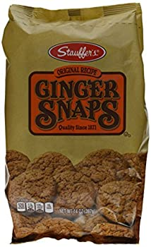 Stauffers Cookie Ginger Snap Original 14 Ounce  Pack of 3