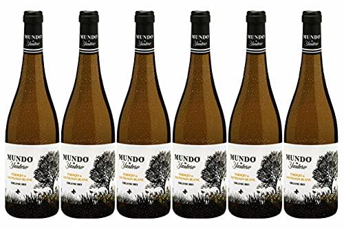 Weinpaket «Mundo de Yuntero blanco 2020», spanischer Weißwein trocken, Biowein von DELINAT (6 x 0,75 l)