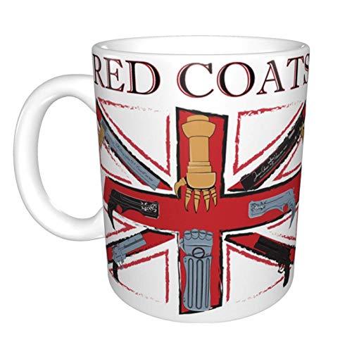 Únete a los abrigos rojos!!!! Taza de café de cerámica divertida para el hogar o la oficina taza de té de café para regalo del festival de la novedad