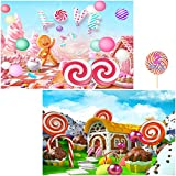 Sharon Rose 5D DIY Diamond Painting Fine Point Diagram, 2 Pack Gingerbread Man Dreamy Candy House Art Craft, Paint by Numbers Kit for Adults, Crystal Diamond Painting by Numbers Full Drills 15.711.8