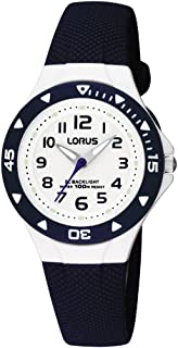 Lorus by Seiko RRX43CX9 Blue Plastic Children's Watch Backlight