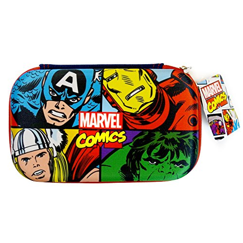 Marvel Avengers Molded Pencil and Utlity Case featuring Hulk and More for Boys