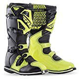 Fly Racing Motocross-Stiefel Maverik Gelb Gr. 43.5