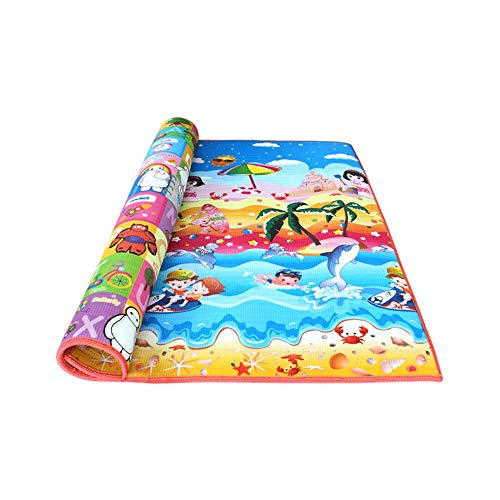Find Discount FeliciaJuan-toy Baby Crawling Mat Baby Play Mat Kid's Puzzle Exercise Play Mat for Flo...
