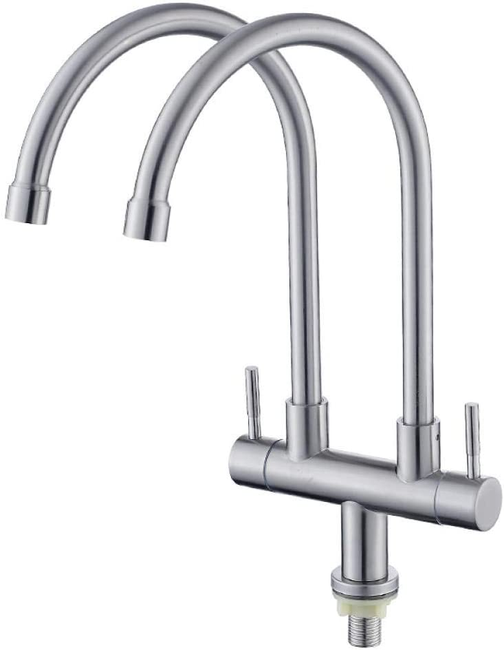 Super special price MBYW Kitchen Faucet Modern Stainless Detroit Mall Sink Steel S