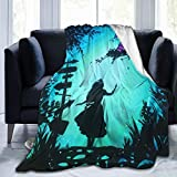 Kaopey Ultra-Soft Micro Fleece Blanket Throw Super Soft Hypoallergenic Plush Bed Couch Living Room Alice in Wonderland
