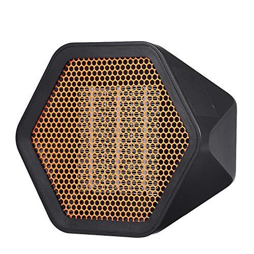 Onlyonehere Mini Ventilador Calefactor Estufa, Portátil Handy Heater Comfort Compact Calefactor, Cerámicos Heating Fan Máquina De Calentamiento Rápido para El Hogar/Oficina