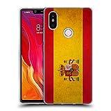 Head Case Designs Español De España Banderas Vintage Carcasa de Gel de Silicona Compatible con Xiaomi Mi 8 SE