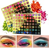 BONNIESTORE 70 Colors Eyeshadow Palette Makeup Set, Matte Shimmer Glitter Natural High Pigmented Pressed Pearl Eye Shadow Powder for Beginners and Pros