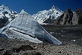 738013 Ice Pinnacle And Masherbrum Peak Pakistan A4 Photo