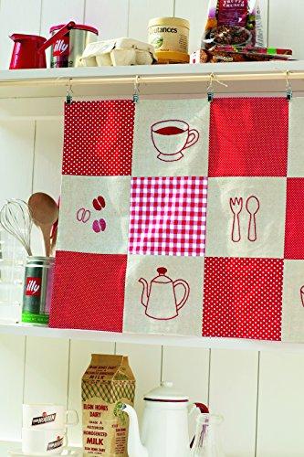 シンプルなランチョンマットに刺繍を入れて楽しむのも良いですね。ランチやおやつの時間が楽しみになりそうです。大きい布に刺繍すれば、タペストリーにもなります。キッチンの目隠しや飾りに使えそうです。