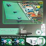 Zoom IMG-2 wiselazer proiettore wifi bluetooth videoproiettore