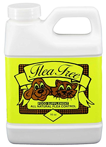 Flea-Free Pure Organic Food Supplement and Natural Pet Products   16 Ounce