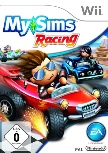 Electronic Arts MySims Racing, Nintendo Wii - Juego (Nintendo Wii, DEU)