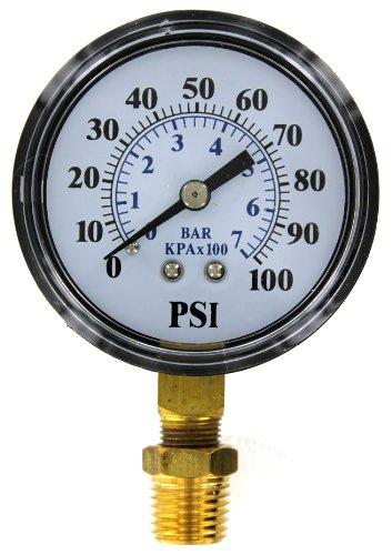 Parts2O TC2104 Well Pump Pressure Gauge