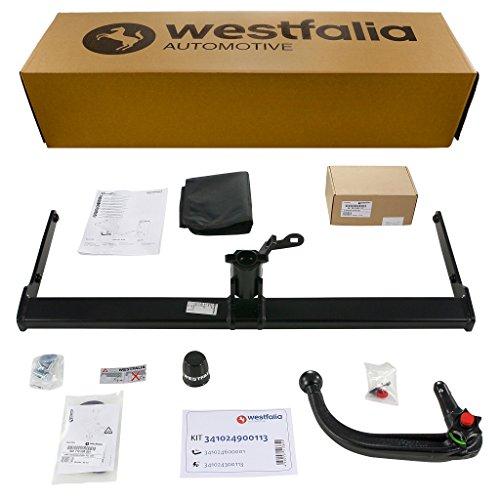 Abnehmbare Westfalia Anhängerkupplung für Vitara (BJ ab 03/15) / SX4 S-Cross (BJ ab 09/13) im Set mit 13-poligem fahrzeugspezifischen Westfalia Elektrosatz