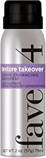 fave4 hair Mini Texture Takeover Oomph Enhancing Hairspray, 2oz