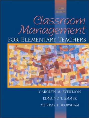 Classroom Management For Elementary Teachers 6th Edition