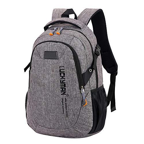 Backpack Bag Laptop Bag Fashion Canvas Travel Bag Backpack Casual Waterproof Laptop Backpacks Men Women Fashion Travel Gary