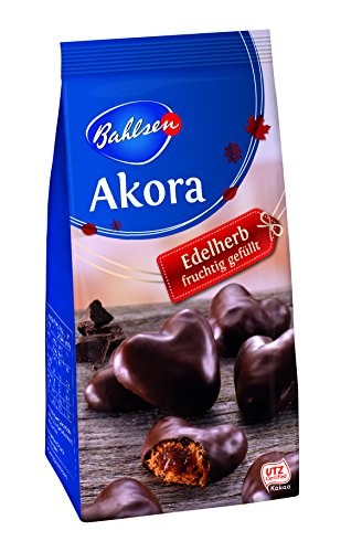Bahlsen Akora Edelherb Lebkuchenherzen 6 x 150g