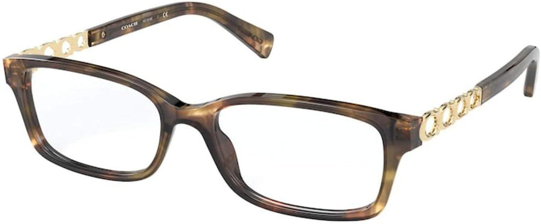 Eyeglasses Coach HC 6148 5592 Tortoise Max 80% Max 44% OFF OFF Green