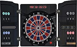 Dartona Electronic Dartboard CB40 Cabinett - Tournament disc with 27 games and 250 variants