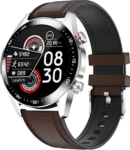 Smartwatch Bluetooth Telefonieren Herren Musiksteuerung Voll Touch Bildschirm Trainingsmodi Kamera GPS Fitness Armband Blutdruckmessung Schrittzähler Damen Herzfrequenz Anruf Benachrichtigungen