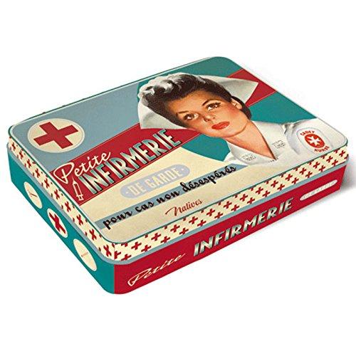 ONOGAL Botiquin de Primeros Auxilios Caja Metal Vintage y Accesorios Paris 410700 7083