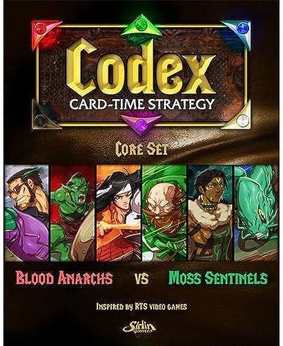 cómodamente Codex Core Set by Sirlin Games Games Games  barato y de alta calidad