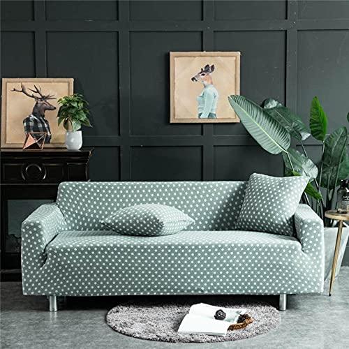 WXQY Funda elástica para sofá, Moderna combinación, Funda para sofá de Esquina, Funda para sofá, Funda para sofá, protección para Mascotas, Funda para sofá, Funda para sofá A15, 4 plazas