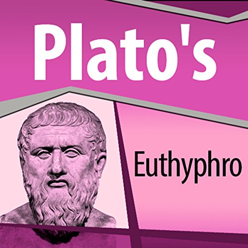 Plato's Euthyphro audiobook cover art