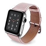 Aottom Compatible pour Bracelet Apple Watch 42mm Cuir,Bracelet Apple Watch 44mm Femme Bracelet Apple...
