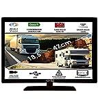 Télévision Camping Car Camion Fourgon 12V 24V MOBILVISION 18,5' 47cm - TVWS19