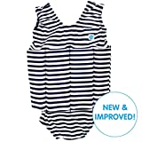 Splash About Combinaison - Maillot de Bain - Enfant - Bleu (Navy/White/Stripe) - 1-2...