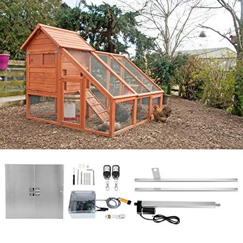 Dispositif d'ouverture de cage de poulet, ouvre-porte...