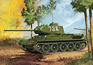 Academy T-34/85 No. 112 Factory Production Vehicle Building Kit