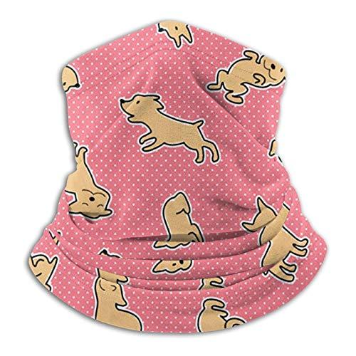 Custom Made Dog Ofpretty Dogly Outdoor Microfiber Neck Gaiter Warm Windpro Face Coverscarf Bandana Balaclava