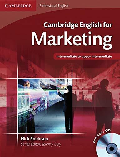 Cambridge English for Marketing: Student's Book + Audio-CD