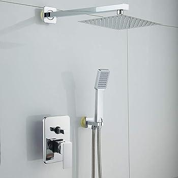 acero inoxidable pared montada para ba/ño Soporte de alcachofa de ducha pulverizador de ducha de mano